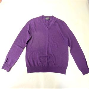 Express italian merino wool sweater size M